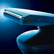 Skin-friendly precision trimmer of Philips SensoTouch RQ1280cc shaver is perfect for grooming sideburns and mustache and to give you a smarter and stylish look.