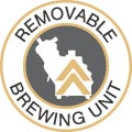 Removable brewing unit
