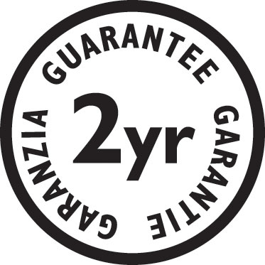 The i-LIGHT has a two year guarantee