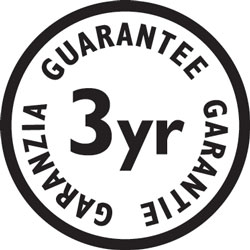 The Pro Ionic Ultra comes with a 3 year guarantee