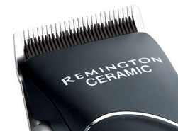 The Remington Stylist hair clipper has advanced ceramic blades