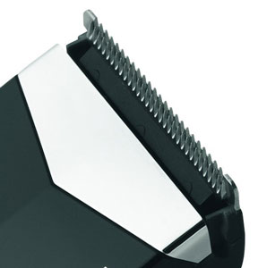 The Remington HC325 Hair Clipper has diamond-like carbon-coated blades
