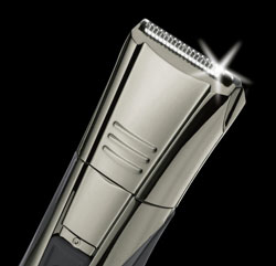 The Remington Remington Navigator trimmer has advanced titanium blades