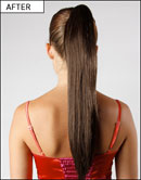Love Hair Extensions Clip-In Silky Sue Style Synthetic Ponytails at Amazon.co.uk