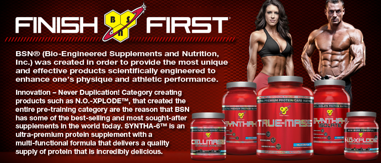 Finish First with BSN Sports Nutrition