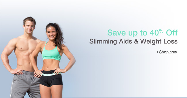 Up to 40% Off Slimming & Weight Loss