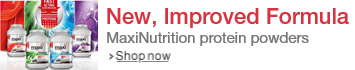 MaxiNutrition--New, Improved Formula