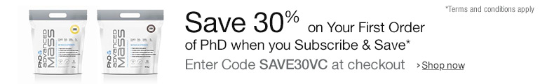 Save 30% Off Your First Order when you Subscribe and Save