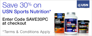 30% Off Your First Order of USN Nutrition when you Subscribe & Save