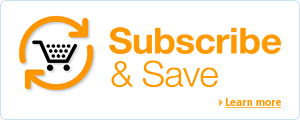 Never run out with Subscribe & Save--save 10% and get free regular deliveries