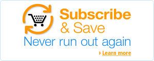 Save 10% and get free regular deliveries with Subscribe & Save