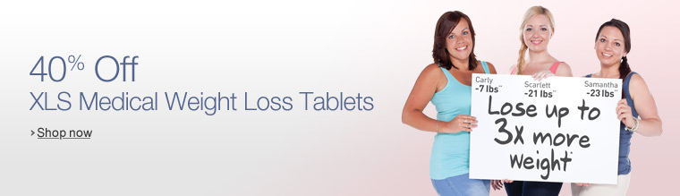40% Off XLS Medical Weight Loss Tablets
