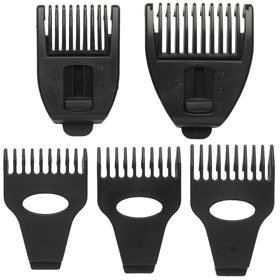 The BaByliss For Men Men 10-in-1 Titanium Grooming System Comb Guides
