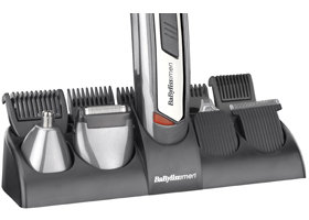 The BaByliss For Men Men 10-in-1 Titanium Grooming System Storage Stand