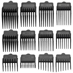 The BaByliss For Men Professional Clipper Kit comb guides