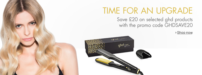 £20 Off Selected ghd with the Promo Code GHDSAVE20