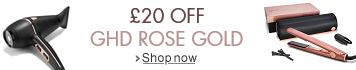 £20 Off ghd Rose Gold Limited Editions