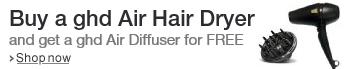 Buy a ghd Air Hair Dryer and get a ghd Air Diffuser for FREE