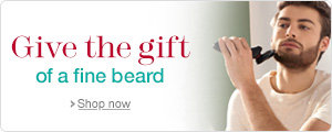 Give the gift of a fine beard