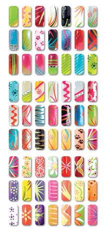 Nail design chart