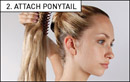 Love Hair Extensions Clip-In Synthetic Crocodile Clip Ponytails at Amazon.co.uk