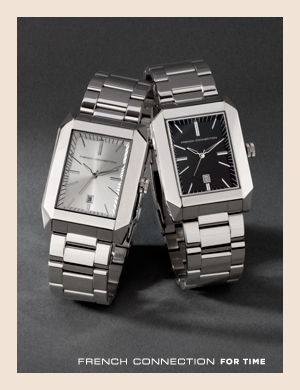French Connection For Time. Watches for men from French Connection.
