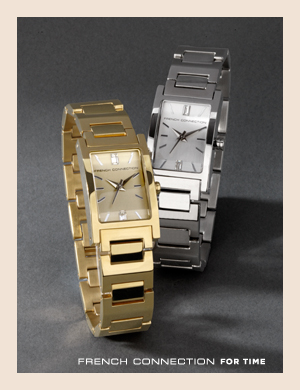 French Connection For Time. Watches for women from French Connection.