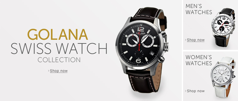 The Golana Swiss Watch Collection. Browse the full range and shop now