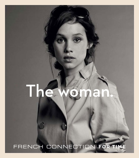 French Connection for Time. The Woman. French Connection watches for women.
