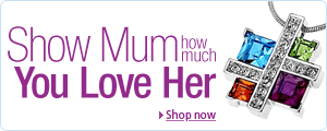 Mother's Day - Show Mum you lover her with jewellery from Amazon.co.uk