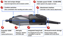 See all the redesigned features of the Dremel 300