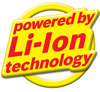 Powered by lithium ion technology