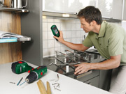 The Bosch PDO Multi is easy to use straight away because no calibration is necessary