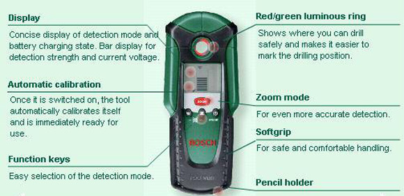 bosch multi digital detector pdo ebay. Black Bedroom Furniture Sets. Home Design Ideas