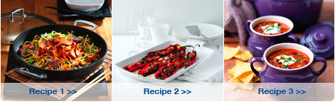 Create  scrumptious recipes with Le Creuset