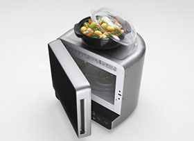 Enjoy healthy steam cooking with Whirlpool's specially designed steamer vessel