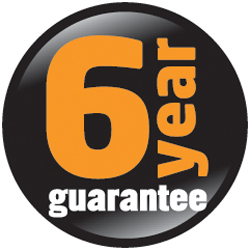 6 Year Guarantee