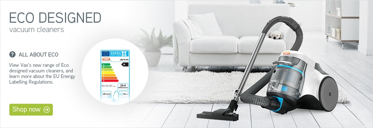 Vax eco vacuums