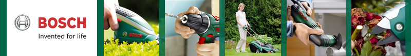 Shop the Bosch store featuring great DIY and Gardening products including lawn mowers, drills, sanders and more