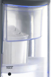 The Breville Brita Hot Cup comes with a Brita Maxtra cartridge