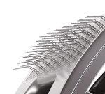 Slicker bristles