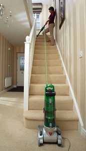 Full stair cleaning