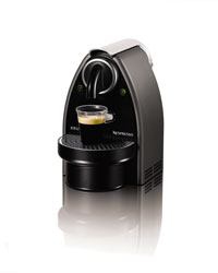 The Nespresso Essenza machine