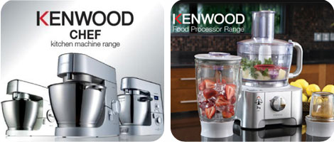 Kenwood Chefs and Food Processors