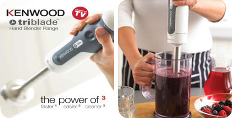Kenwood Triblade Hand Blenders