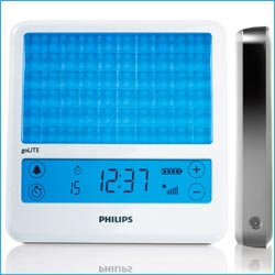 Philips has developed a new lighting device that recreates sunrise and sunset in your bedroom.