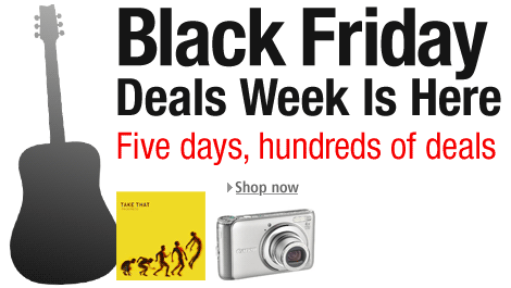 Black Friday Deals Week is here. Hundreds of deals, on thousands of products. Visit the Black Friday page to bag a bargain.