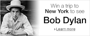 Win a trip to see Bob Dylan in New York