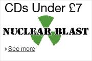 Nuclear Blast CDs Under £7