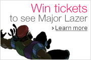 Win a Trip to London to see Major Lazer
